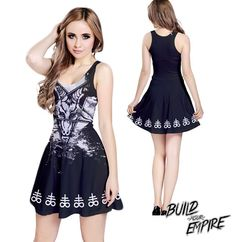Question Everything Baphomet Dress