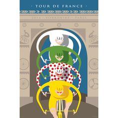 Tour de France Triomphe - VALENTI