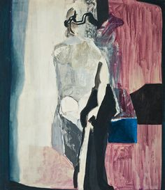 """Teresa Pągowska, """"The Day"""" Painting (oil, tempera, canvas) Tempera, Outsider Art, Art Auction, New Artists, Figure Painting, Abstract Expressionism, Home Art, Contemporary Art, Museum"""