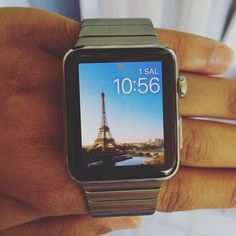 #applewatch #watchOS2 #apple #watch #paris #livewallpaper #soocool by onur.esim