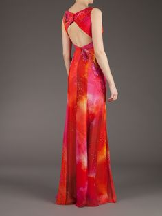 Matthew Williamson Printed Long Dress