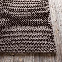 Cable Knit Rugs Are Comfortable, Age Well, Easier To Hide Stains. Casual But