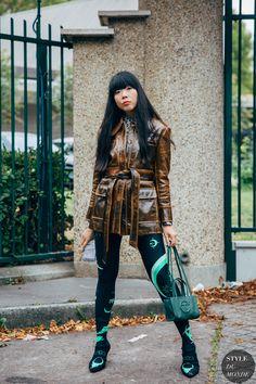 Paris SS 2020 Street Style: Susie Lau - STYLE DU MONDE | Street Style Street Fashion Photos Susie Lau