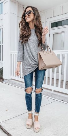 eaa38a30abd 40 Outstanding Casual Outfits To Fall In Love With
