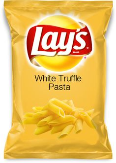 White Truffle Pasta- This is my submission to the Lays Potato Chip new flavor contest!!!!
