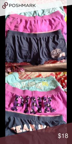 Pink by VS shorts bundle Pink by Victoria's Secret shorts bundle L. PINK Victoria's Secret Shorts
