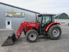 Tracteur sur Roues Massey Ferguson 583 2008