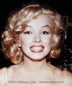 Marilyn-Munroe-1950s-makeup-look.