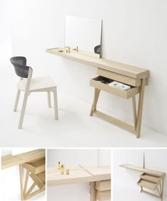 Simple Furniture: Pivot Cabinet by Shay Alkalay