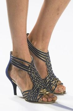 Best in Shoe: See Over 450 Perfect Pairs From the Spring '13 Runways: Rachel Roy  : Versace  : Tadashi Shoji