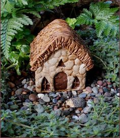 Mini Manor Fairy House – Enchanted Gardens - Great for mini terrariums.