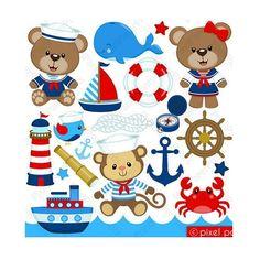 100-apliques-ursinho-marinheiro-ursinha