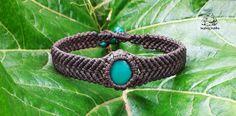 Healing macrame bracelet handmade bracelet by byLaughingBuddha