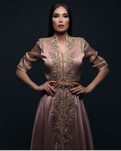 [New] The 10 Best Photography Today (with Pictures) Kaftan Moroccan, Morrocan Dress, Ao Dai, Oriental Fashion, Indian Fashion, Abaya Fashion, Fashion Dresses, Bridal Undergarments, Caftan Gallery