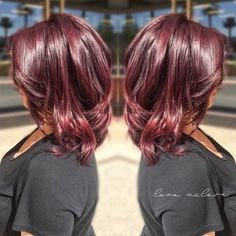color: VIOLET RED using Paul Mitchell the color XG | hair by lara nelson. instagram: @lrjnn