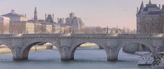 Thierry Duval 9 seagulls and the Pont Neuf (700x294, 213Kb)
