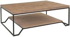 Evans Coffee Table - Natural - Community