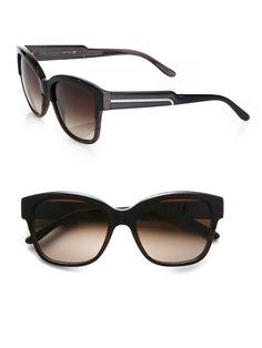 a9b531e84333 Stella Mccartney Cat s-eye Acetate Sunglasses in Brown