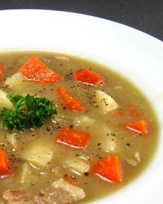 A very delicious Germany potato soup!