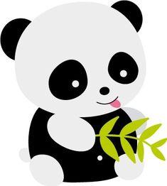 Resultado de imagen para tarjetas en forma de panda
