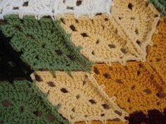 detail of Prairie Star pattern #crochet #star #motif