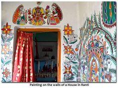 Indian Painting Styles...Madhubani/Mithila  Painting (Bihar)-painting-on-walls-house-ranti3.jpg