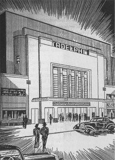 The late lamented Adelphi Cinema - now just the front wall of a multi-storey carpark Old Pictures, Old Photos, Adelphi Theatre, Pierrot, Cinema Theatre, Ireland Homes, Dublin City, Theatres, Back In The Day