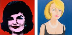 """#AndyWarhol 50 Year Influence on 60 Artists at """"Regarding Warhol: Sixty Artists, Fifty Years"""" Exhibition at The Metropolitan Museum of Art, New York."""
