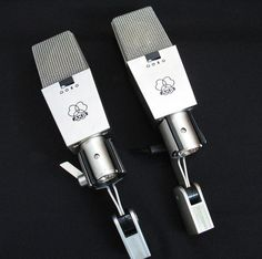 AKG 414 EB Matched Pair of Vintage Microphone with CK12 capsule 414EB/414-EB