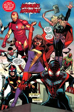 Avengers by Mahmud Asrar - Marvel Comics Marvel Avengers, Marvel Dc Comics, Marvel Fanart, Avengers Team, Marvel Comic Books, Fun Comics, Comic Book Characters, Comic Book Heroes, Marvel Characters