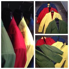 Kleurrijke opdracht voor iScreen. Hoe communiceer jij? In groen, geel, rood of blauw? Edgar N., voor al je maatkleding!