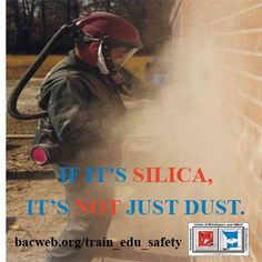 The time to take action on silica standard is NOW.     (A brief chronology of silica-related regulatory efforts since the early 1990s: http://www.silica-safe.org/regulations-and-requirements/status-of-regulatory-efforts/timeline)   #silica #health #construction #1u