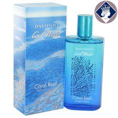 Davidoff Cool Water Coral Reef 125ml Eau De Toilette Spray EDT Cologne for Men