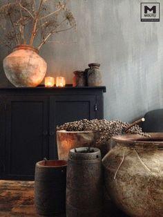 Lekker veel Hoffz en kalkverf by Molitli Interieurmakers. Rustic Chic, Rustic Style, Boho Decor, Rustic Decor, Kitchen Metal Wall, Ideas Para Organizar, Interior Decorating, Interior Design, Decorating Ideas