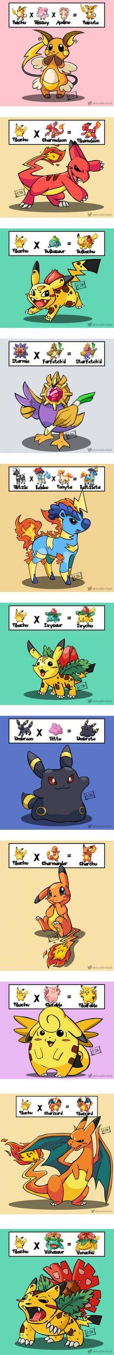 What is your dream Pokémon combination? More
