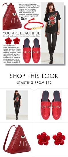"""""""SheIn VII / 23."""" by amra-sarajlic ❤ liked on Polyvore featuring Chanel, Monica Vinader, Sheinside and shein"""