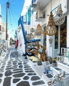 """Courtesy of Admins: ✤ Mykonos, Greece 🇬🇷 Tag your best travel photos with """" Find cheap flights, Best Hotel Deals, car rentals,. Mykonos Town, Mykonos Greece, Crete Greece, Athens Greece, Mykonos Island, Beautiful Streets, Beautiful Places, The Places Youll Go, Places To Go"""