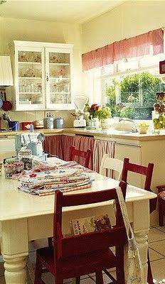 I love having big windows in the kitchen