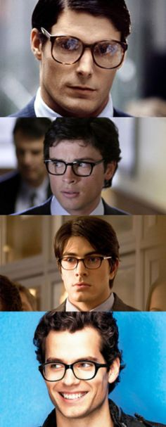 """Even Superman Is Sexier With Glasses"" - How to look like Clark Kent"