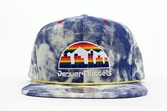 Mitchell  Ness Mens NBA Denver Nuggets Acid Wash Snapback Hat *** Click image to review more details.