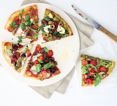 Knock up a quick dough base then choose one of these exciting toppings for an easy homemade Italian feast