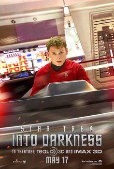 'Star Trek Into Darkness' Chekov (Anton Yelchin) Poster Preview!