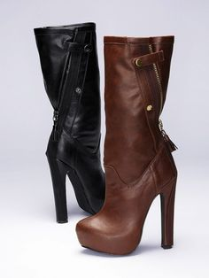 Zip-back Boot by VictoriasSecret