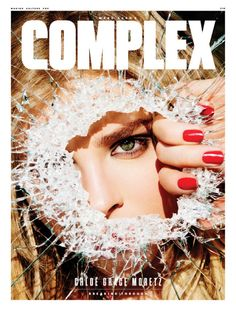 Chloe Grace Moretz on Complex Magazine April-May 2016 Cover