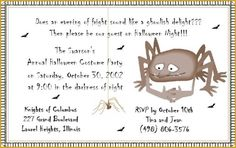 Party: Halloween Party Invitation Wording As Your Chosen Appealing Party Invitation Media 10