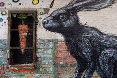 Roa: a graffiti-artist from Ghent, Belgium