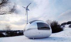 Ecocapsules: prachtige minihuisjes die zichzelf van stroom voorzien