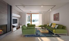 Projekt domu Arte 136,91 m2 - koszt budowy - EXTRADOM Sofa, Couch, House Plans, Furniture, Home Decor, Gallery, Prefab Homes, Settee, Settee