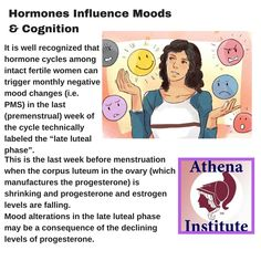 How do hormones affect women's health and wellness? Find out, https://www.athenainstitute.com/hormonesandyourhealth.html #health #hormones #women