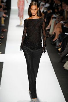 beautiful black on black by Narciso Rodriguez